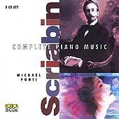 DAMAGED ARTWORK CD Michael Ponti, Scriabin: Complete Piano Works of Scriabin Box