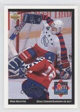 1992-93 Upper Deck McDonald's #McD-25 Mike Richter New York Rangers Hockey Card