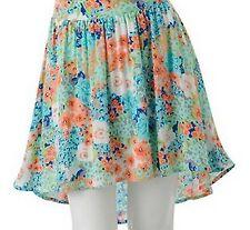 Candies Juniors Floral Hi Low Skirt XL Extra Large