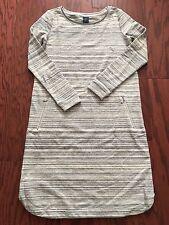 NWT GAP MATERNITY Brushed stripe sweatshirt dress SIZE XS