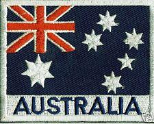 AUSTRALIAN FLAG IRON ON  PATCH BUY 2 GET 1 FREE