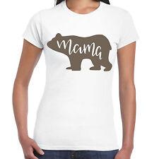 Mama Bear - Ladies T shirt -  Gift  Fun Tee