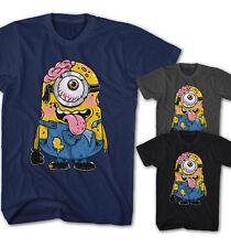 ★Herren T-Shirt Zombie Walking Minion Dead Comic Film Serie neu S-5XL ZM28815★