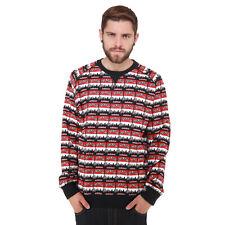 adidas Originals Run DMC Herren Sweatshirt Hip Hop New York Skyline 1982 Schwarz