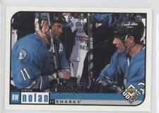 1998-99 Upper Deck UD Choice Preview #175 Owen Nolan San Jose Sharks Hockey Card