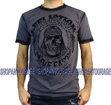 Affliction AC Hatchet A12488 New Short Sleeve Fashion Graphic T-shirt for men