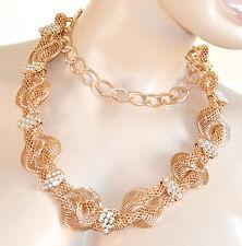 CINTURA ORO GIOIELLO donna STRASS cristalli dorata metallo elegante cerimonia 28