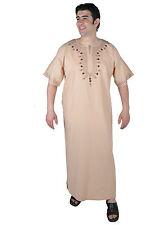 Moderner Herren Kaftan Hauskleid aus1001 Nacht in beige - KAM00675