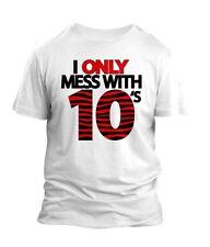 Custom 10 x 45 T-shirt To match Bull 45 Jordan 10s Size S-7XL White Pro Club