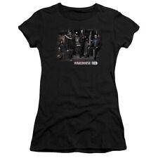 Warehouse 13 Warehouse Cast Juniors Short Sleeve Shirt