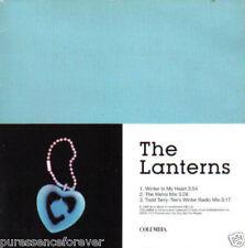 THE LANTERNS - Winter In My Heart (UK 3 Tk DJ CD Single)