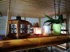 Deckenlampe Tanne Holz rustikal geflammt,Hängelampe Shabby Landhaus romantisch
