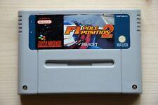 SNES - F1 Pole Position 2 für Super Nintendo