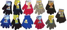 Cartoon Disney  Mickey Sponge Bob Pooh Kids Girls Boys Children Gloves