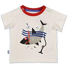 Adidas Originals Niños HAI Camisa de la diversión SHARK Tee Tiburón Blanco Rojo