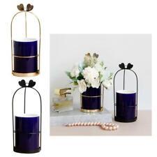Dark Blue Ceramic Vase Tabletop Flower Pot Planter Home Decor Ornament