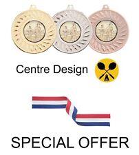 Offre spéciale 10 x badminton 50mm METAL médailles & Ruban