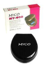 MINI DIGITAL POCKET SCALES 0.01G x 100G / 0.1G x 600G ACCURACY CAPACITY MYCO UK