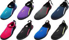 Norty Wave Kids Sizes 11-4 Boys / Girls Slip on Aqua Socks Pool Beach Water Shoe