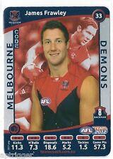2012 Teamcoach SILVER (33) James FRAWLEY Melbourne