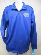 Neuf Florida Gators Homme Taille S-M-L Bleu Performance 1/4 Zip Jacket
