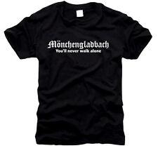 Mönchengladbach - You'll never walk allone - Herren-T-Shirt, Gr. S bis XXXL