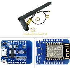 ESP8266 ESP12 WeMos D1 Mini WIFI NodeMcu Lua Development Board 2.4G SMA Antenna
