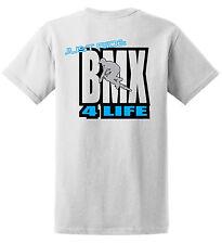 JUST RIDE BMX 4 LIFE SHIRT BIKE BICYCLE GT REDLINE HARO RACE MONGOOSE FIT KINK