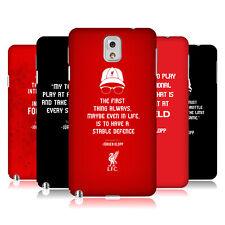 LIVERPOOL FC LFC UFFICIALE FRASI KLOPP COVER RETRO RIGIDA PER SAMSUNG PHONES 2