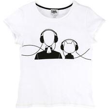 Karl lagerfeld Kids t-shirt Choupette blanco 104 110 116 122 128 134 140 146 152