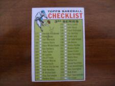 1964 TOPPS BASEBALL CARD #188 3RD SERIES CHECKLIST