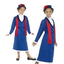 Infantil Victoriano Niñera Disfraz Poppins Chicas Libro Semana Día Disfraz