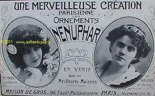 PUBLICITE BIJOUX NENUPHAR Melle ARIEL VAN DEVEN 1910 AD