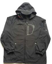New Kam Black Soft Shell Waterproof Hooded Jacket 3XL - 6XL