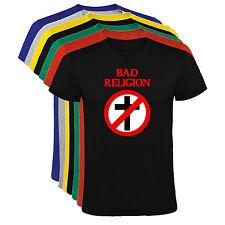 Camiseta Bad Religion Hombre varias tallas y colores a106