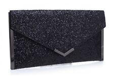 Bessie Noche Clutch Bag en Azul o Flash Negro-BC1005