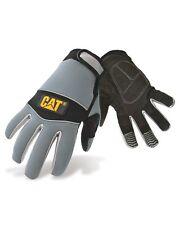 CAT Caterpillar Mens Neoprene Comfort Gloves Black Grey Water Resistant Workwear