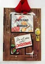 Hang Tags  SANTA CLAUS WORKSHOP CHRSTMAS TAGS or MAGNET #372  Gift Tags
