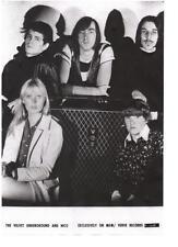 VELVET UNDERGROUND  POSTER  Lou Reed, Nico, Andy Warhol