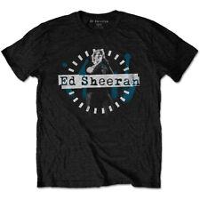 Ed Sheeran Microphone Pose Official Tee T-Shirt Mens Unisex