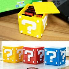 Game Card Case Storage Box Cube TF Card Holder Box Organizer For Nintendo Switch