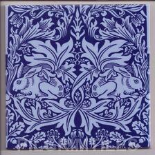 Arts & Crafts William Morris Brer Rabbit Tiles / Fireplace / Kitchen Blue