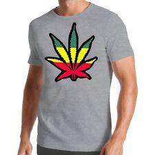 Cannabis Blatt T-Shirt | Reggae | Weed | Bob | Smoke | Marihuana | Marley | Pot
