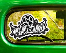 2 THY ART IS MURDER DECALs Sticker Bogo For Car Window Bumper Free Shipping