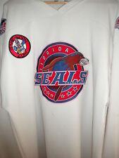 SPHL 2006-2007 GAME WORN FLORIDA SEALS PRACTICE HOCKEY JERSEY