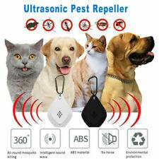 Flealess Ultrasonic Flea Tick Repeller AntiFlea Pest Cockroach Repeller Portable