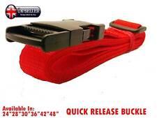 25mm Ajustable Cinturón - 1 pulgadas [Rojo] Clip De Correa Hebilla de liberación rápida Cobra