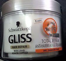 Schwarzkopf GLISS conditioner,expres conditioner, mask  Keratin - Germany