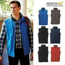 New Mens Workwear 2-Layer Sleeveless Softshell Zipper Gilet Pro RTX body warmer