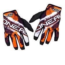 O'Neal Jump MX Handschuhe Shocker Schwarz Orange DH MTB Quad Motocross Cross FR